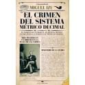 EL CRIMEN DEL SISTEMA METRICO DECIMAL