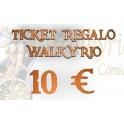 Ticket Regalo Walkyrio de 10 €