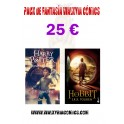 Pack Harry Potter + El Hobbit
