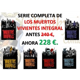 Colección completa integrales LOS MUERTOS VIVIENTES