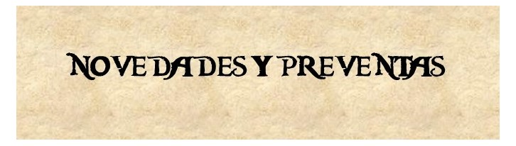 Novedades y Preventas