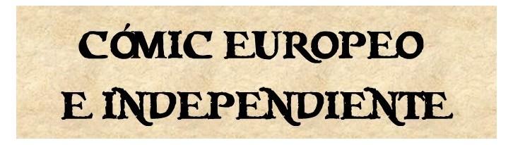 Cómic Europeo e Independiente