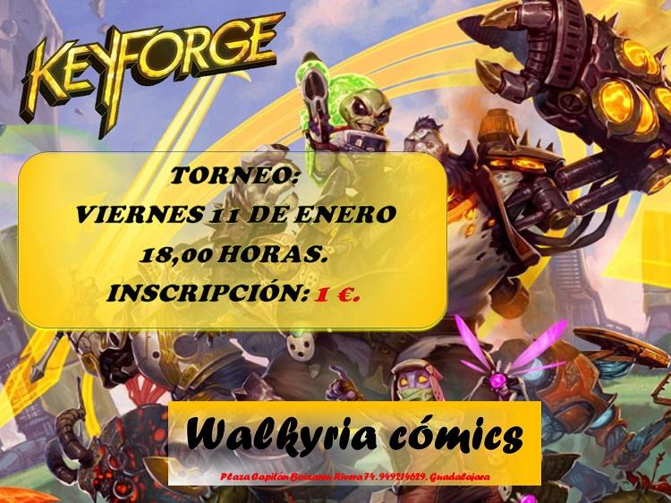 Juega a Keyforge en Walkyria Cómics