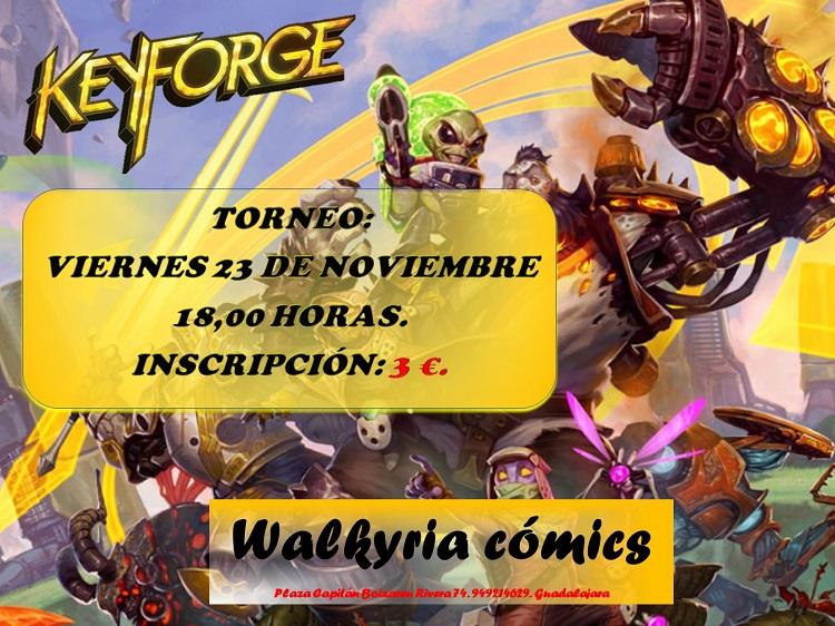 Torneo de Keyforge en Walkyria Cómics