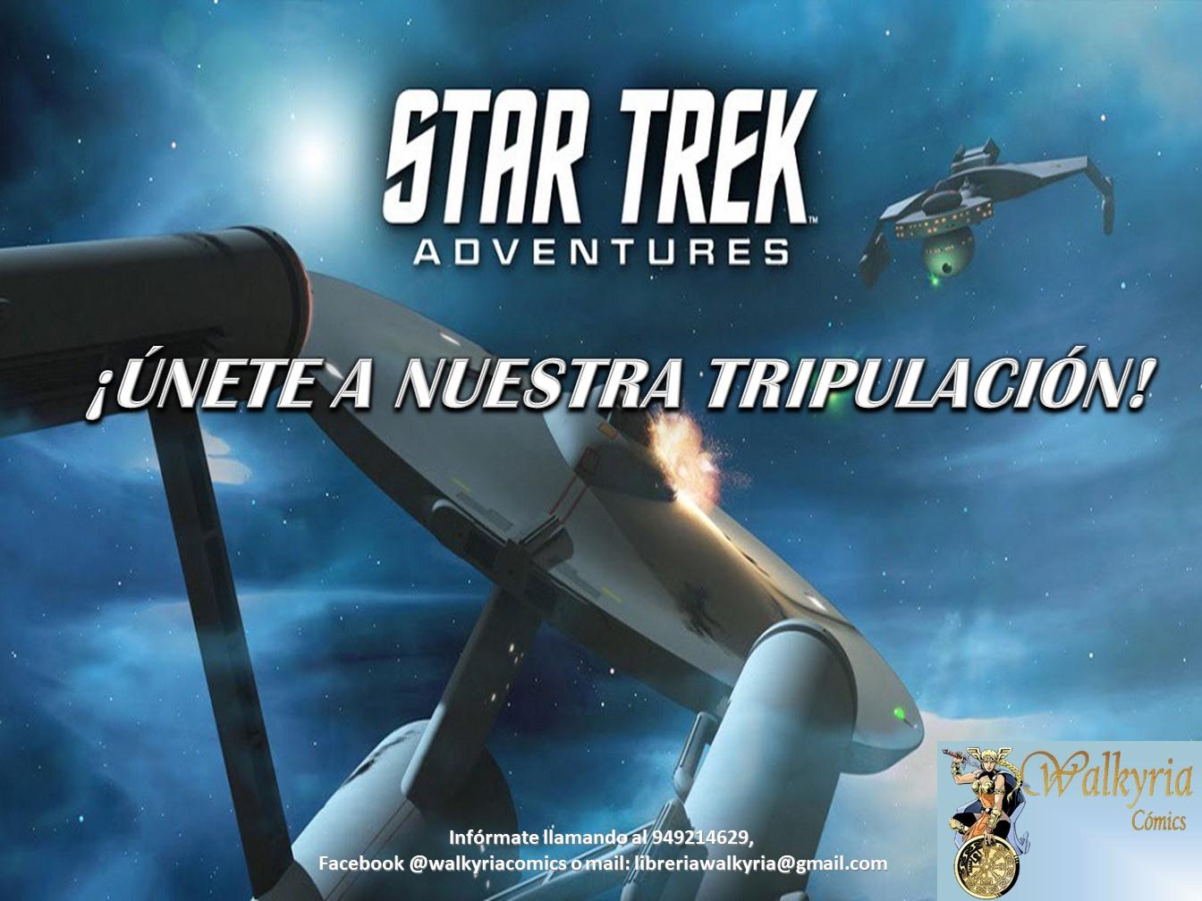 Juega a Star Trek en Walkyria Cómics