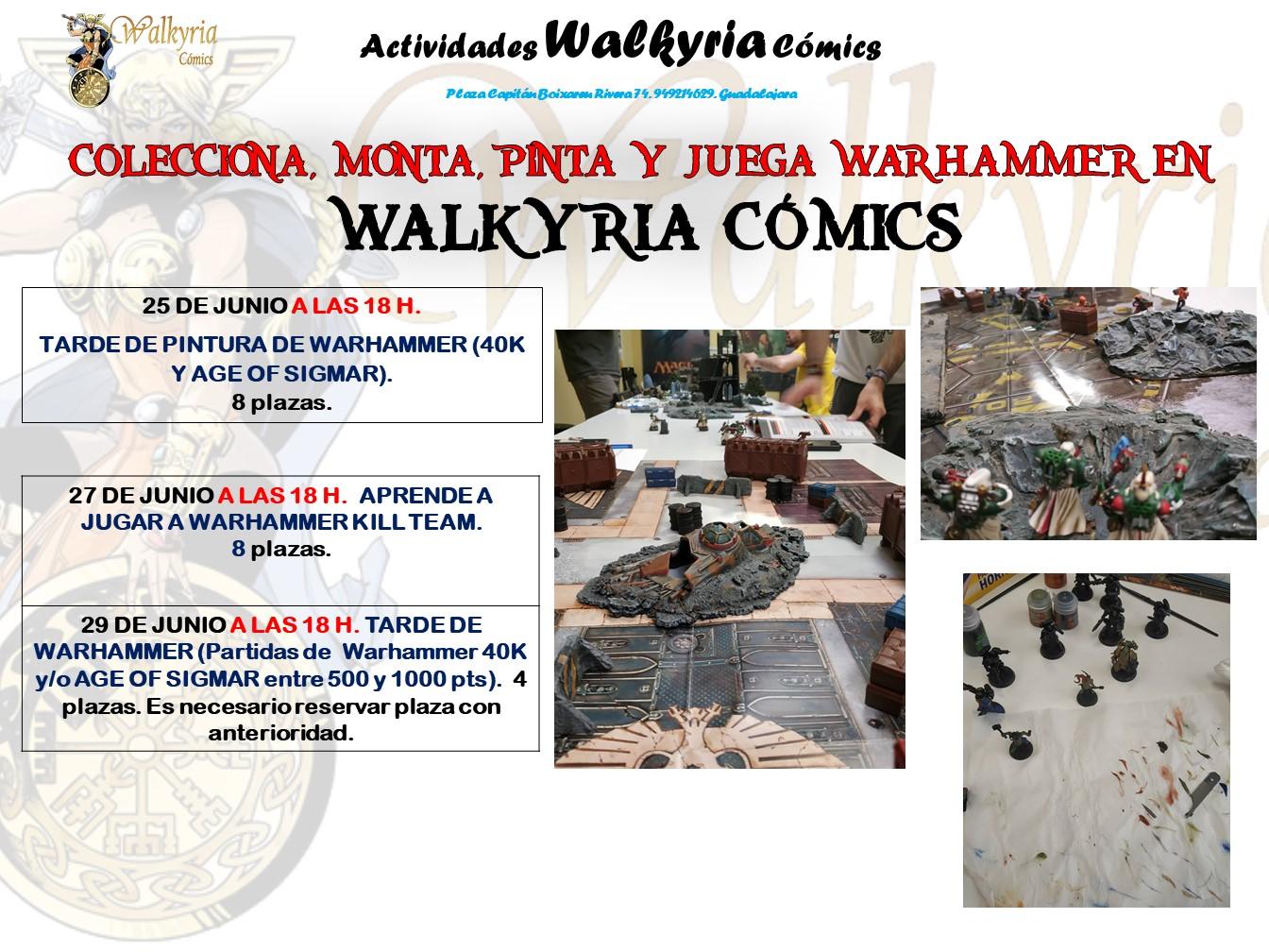 Juega a Warhammer en Walkyria Cómics