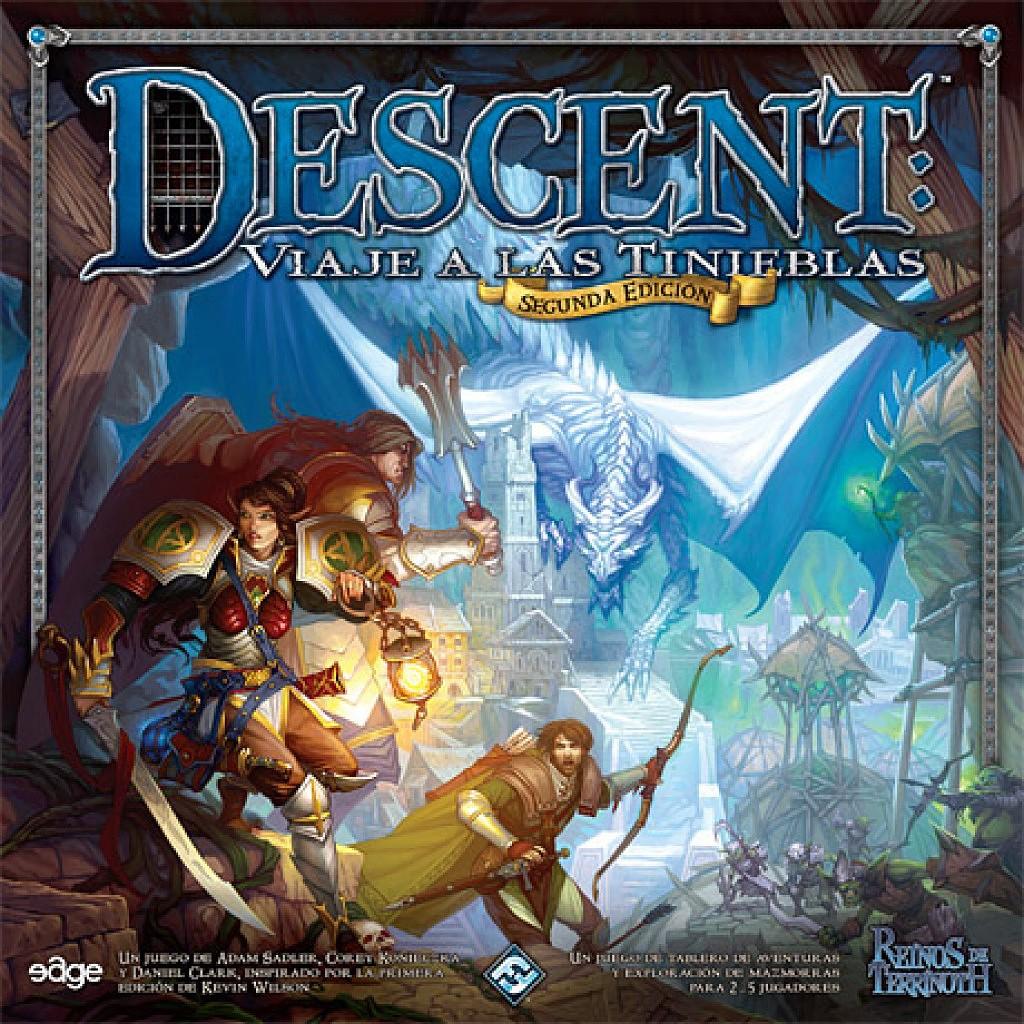 Juega a Descent en Walkyria Cómics