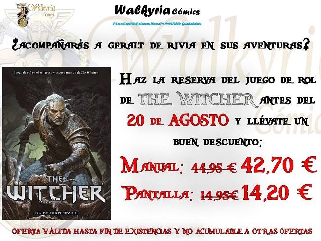 Vive asombrosas aventuras con el juego de rol de The Witcher