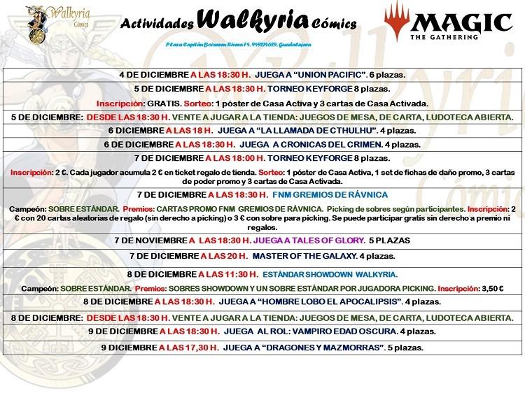 No te pierdas la primera jornada de los Walkyria Winter Games.