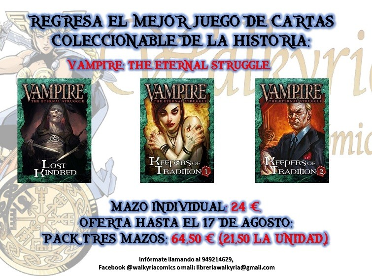 Consigue Vampire The Eternal Struggle