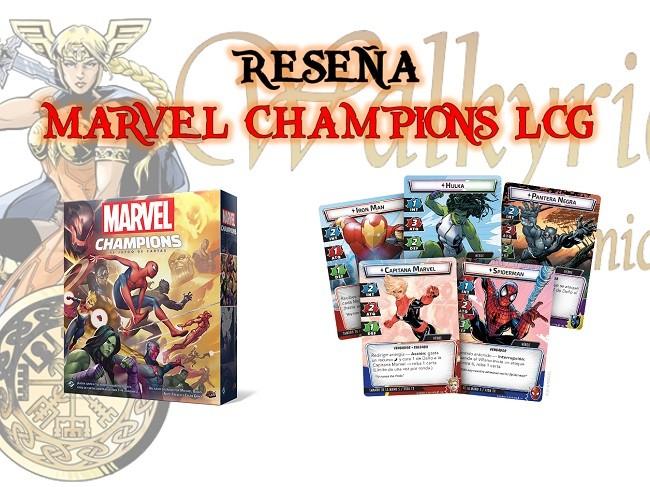 Reseña de Marvel Champions