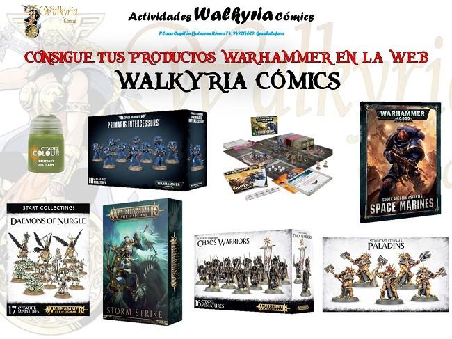 Consigue Warhammer, Warhammer 40.000, Age of Sigmar y productos Citadel en nuestra web