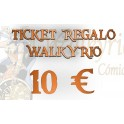 Ticket Regalo Walkyrio de 10 €