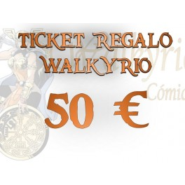 Ticket Regalo Walkyrio de 50 €