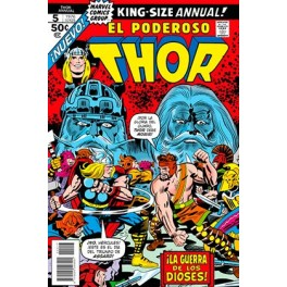 MARVEL FACSIMIL 17. THE MIGHTY THOR ANUAL 5