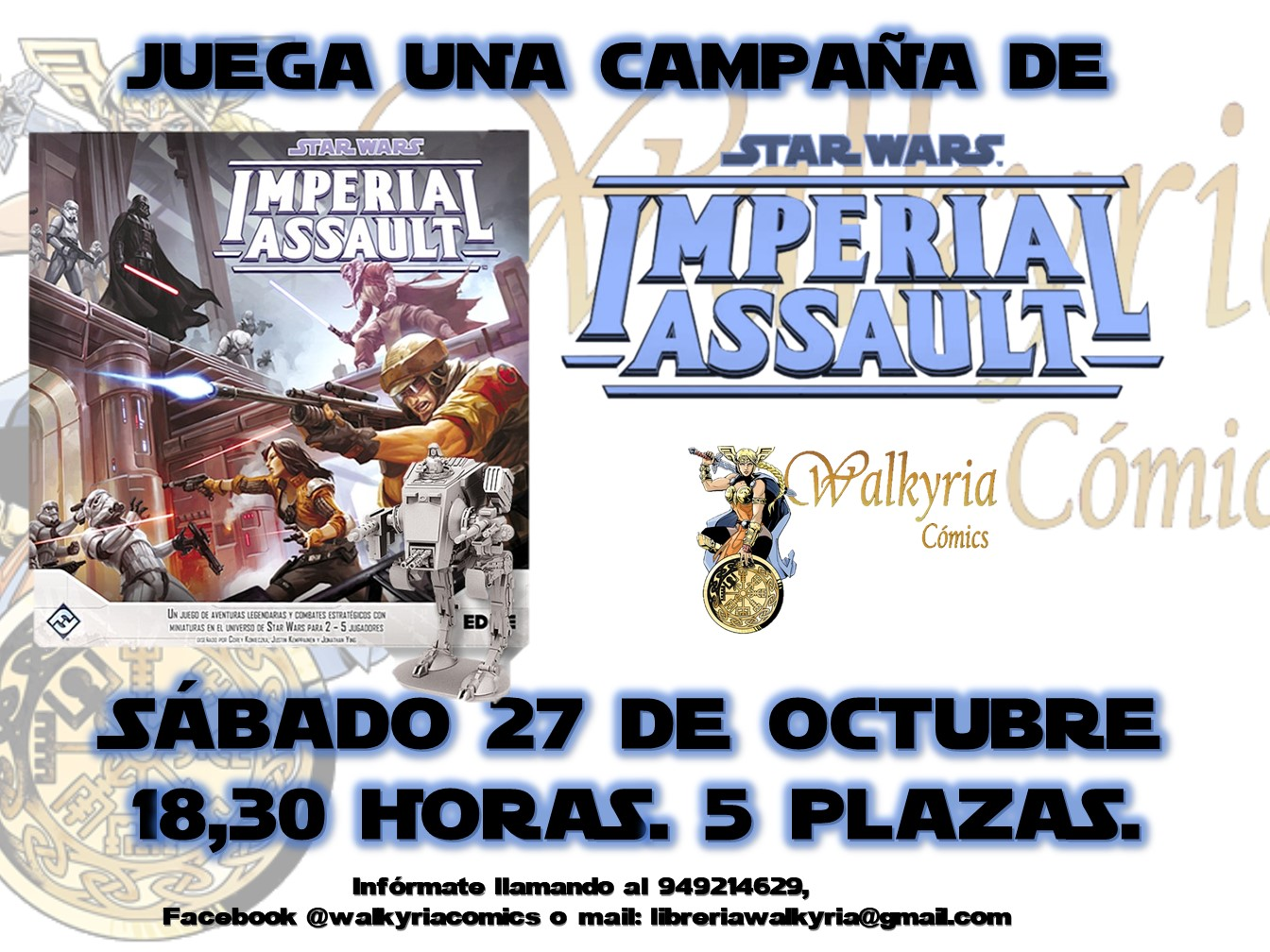 Juega a Imperial Assault en Walkyria Cómics