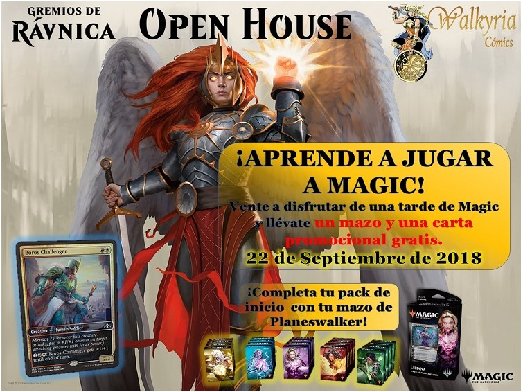 Aprende a jugar a Magic con Walkyria Cómics